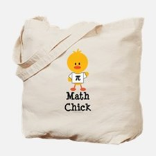Math Chick Tote Bag