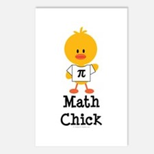Math Chick Postcards (Package of 8)