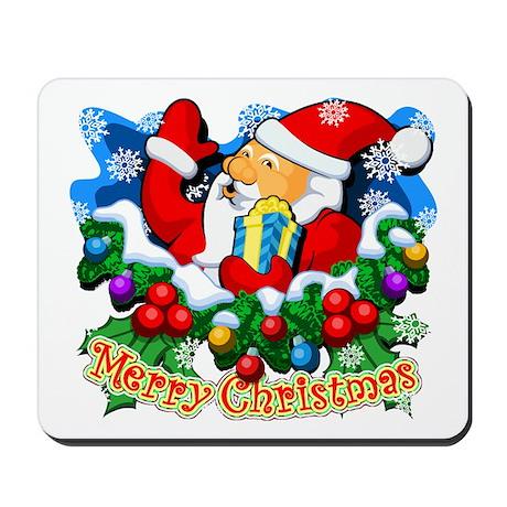 Family Christmas: SANTA Mousepad