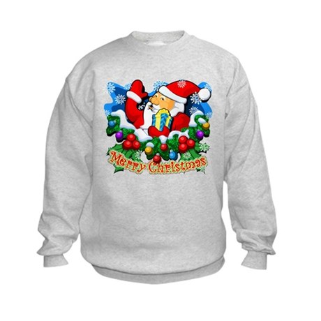 Family Christmas: SANTA Kids Sweatshirt