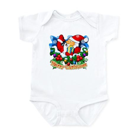 Family Christmas: SANTA Infant Bodysuit