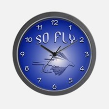 SO FLY Wall Clock
