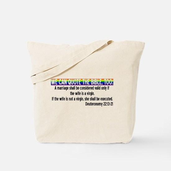 Unique Injustice Tote Bag