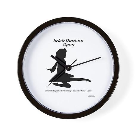 Girl (A) Open - Wall Clock