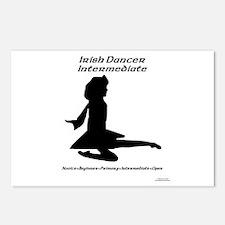 Girl (A) Intermediate - Postcards (Package of 8)