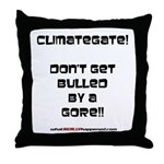 Don't get bulled by a Gore Throw Pillow