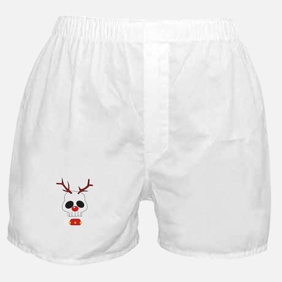 Skull - Reindeer Boxer Shorts