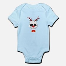 Skull - Reindeer Infant Bodysuit