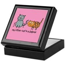 My Other Cat... Keepsake Box