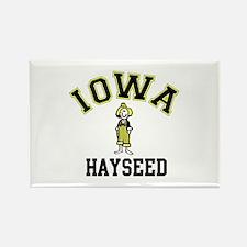 Iowa Hayseed Rectangle Magnet