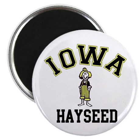 "Iowa Hayseed 2.25"" Magnet (100 pack)"