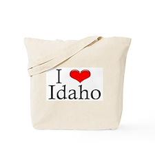 I Heart Idaho Tote Bag