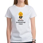 Forensic Anthropology Chick Women's T-Shirt