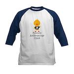 Forensic Anthropology Chick Kids Baseball Jersey