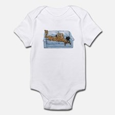 NBr On Couch Infant Bodysuit