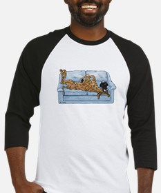 NBr On Couch Baseball Jersey