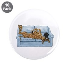"""NBr On Couch 3.5"""" Button (10 pack)"""