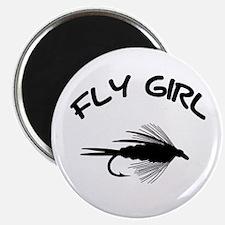 FLY GIRL Magnet