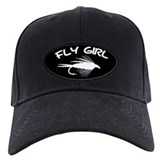 Fly fishing Baseball Cap with Patch