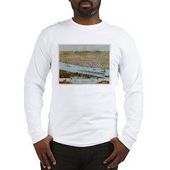 1867 Map of Winona Long Sleeve T-Shirt