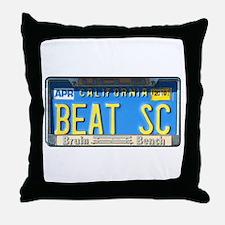 Beat SC Throw Pillow