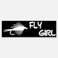 FLY GIRL Bumper Bumper Bumper Sticker