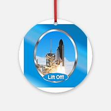 Lift Off! Ornament (Round)