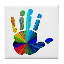 Hand Tile Coaster