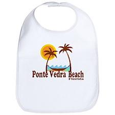 Ponte Vedra Beach FL - Sun and Palm Trees Design B