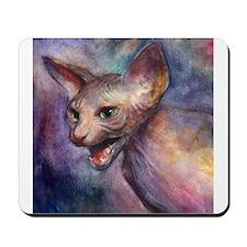 Sphynx Cat 30 Mousepad