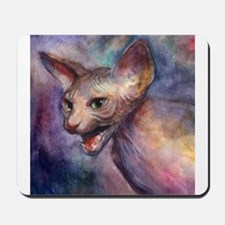 Sphynx Cat 30 Mousepad