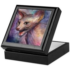 Sphynx Cat 30 Keepsake Box