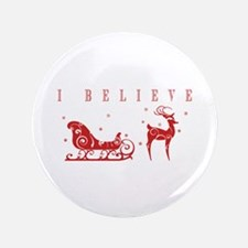 "Funny Santa claus 3.5"" Button (100 pack)"