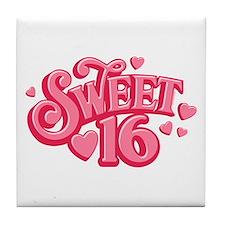 Sweetheart 16 Tile Coaster