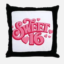 Sweetheart 16 Throw Pillow