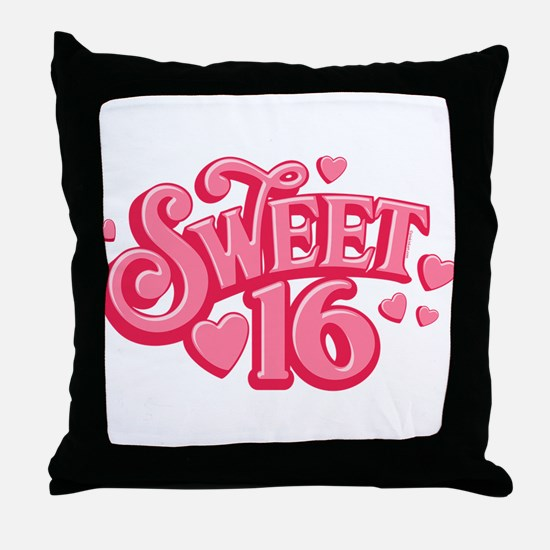 Sweetheart 16 Throw Pillow