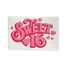 Sweetheart 16 Rectangle Magnet