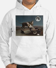 Sleeping Gypsy with Cats Hoodie