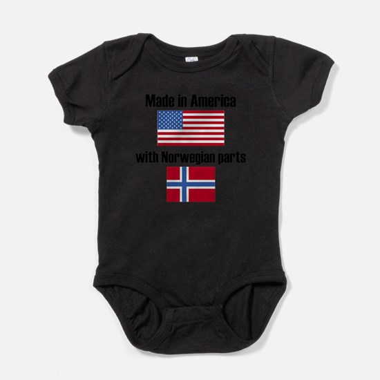 Made In America With Norwegian Parts Body Suit