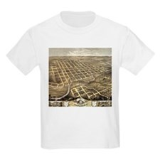 1869 Faribault Map T-Shirt