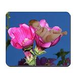 Lisianthus Flower Baby Mousepad