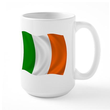 The Irish Flag Large Mug
