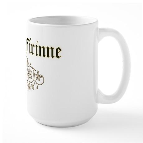 'Justice-Truth' 2 Large Mug