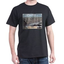 1869 Red Wing Hand-drawn Map T-Shirt