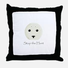 Stop the Hunt Throw Pillow