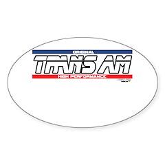 TRANS AM Oval Sticker (50 pk)