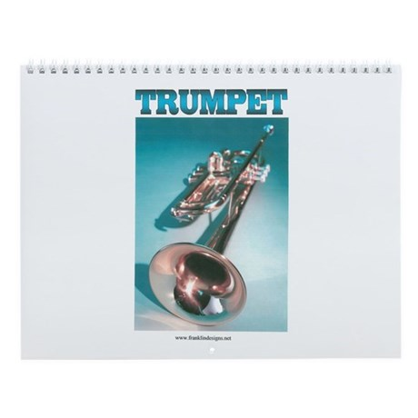 Trumpet Home Decor Wall Calendar By Franklindesigns