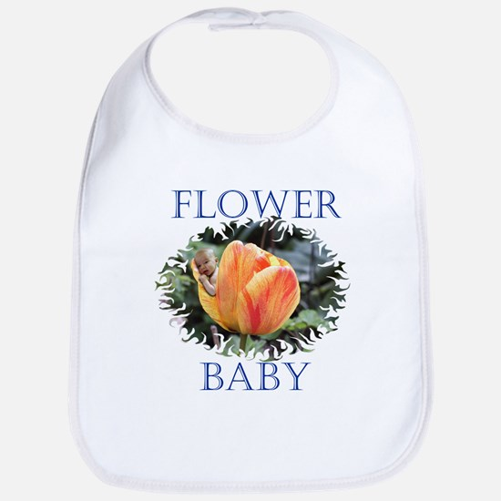 Tulip Flower Baby Bib