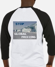 THE WORLD IS FREEZING! - Baseball Jersey