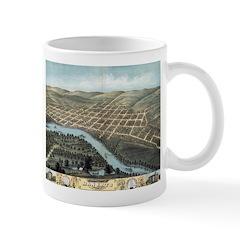 1870 View of Mankato Mug